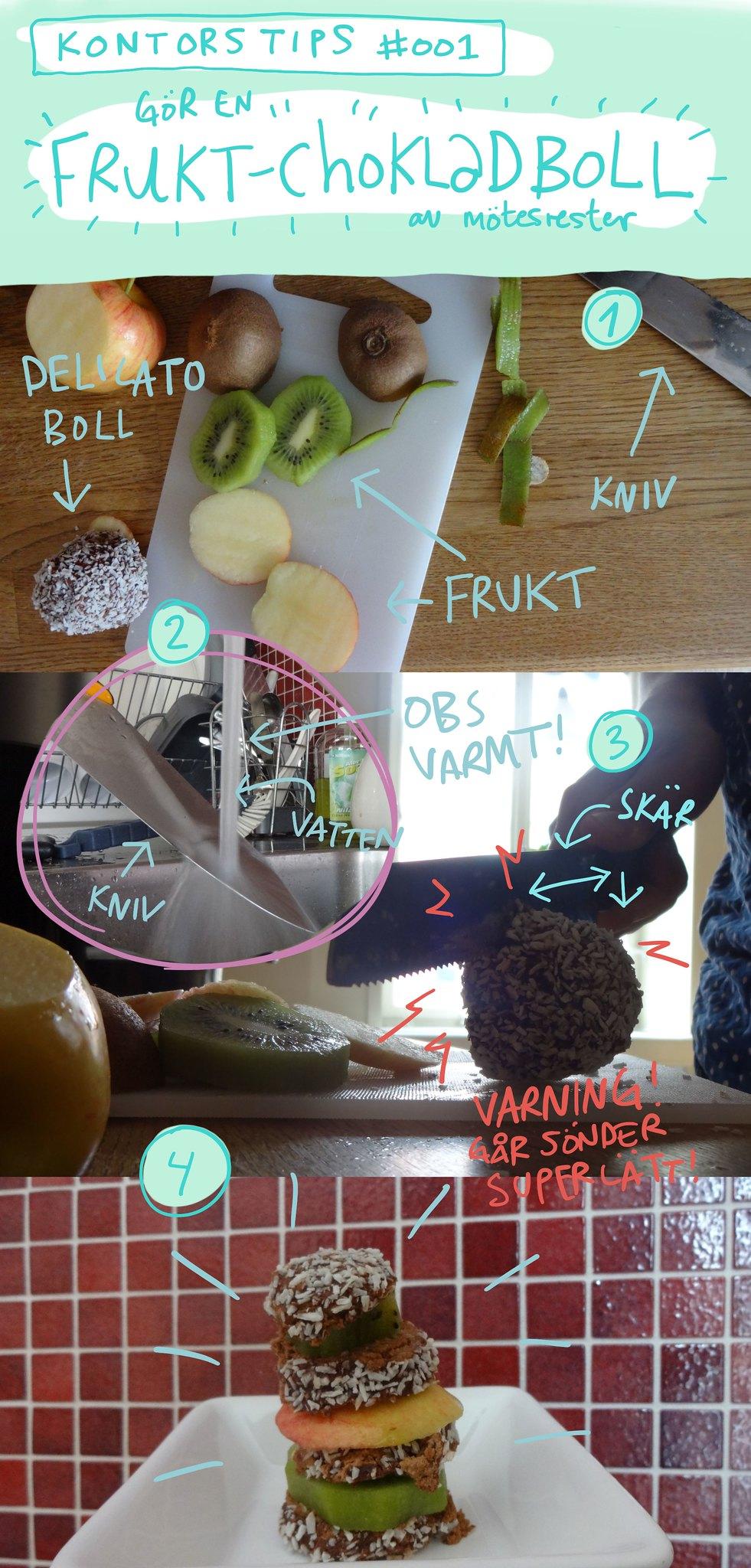 fruktchoklaboll