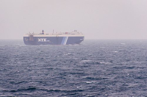 NYK roro car carrier ship