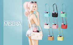 Miseria - Sweetheart Bag