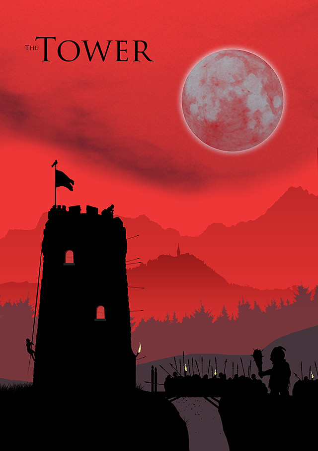 The Tower poster design