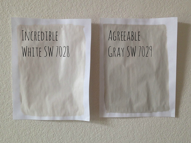 Two Gray Samples