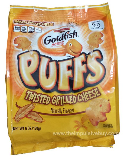 Pepperidge Farm Twisted Grilled Cheese Goldfish Puffs