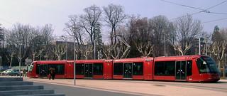 Tram arrêt Universités