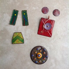 My First Enamel Pieces