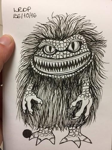 26 Inktober 2016 - Critter