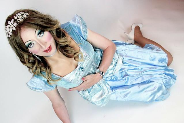 Sarah as Cinderella