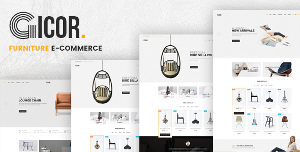 Gicor v1.0 – Furniture Responsive Prestashop Theme