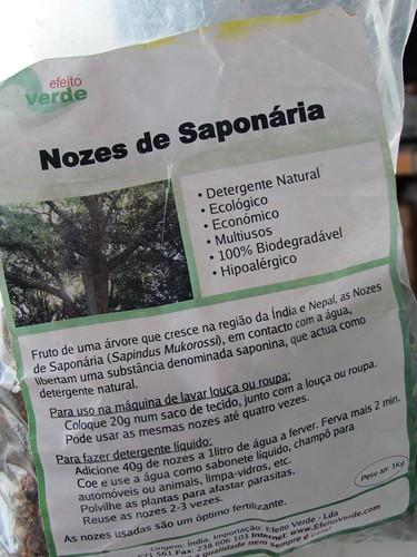Saco Nozes de Saponária
