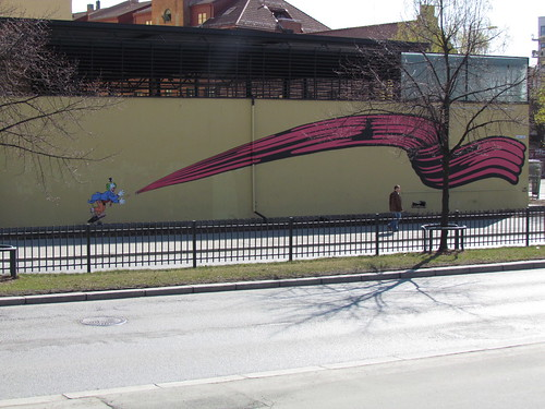 Mural by D-Face