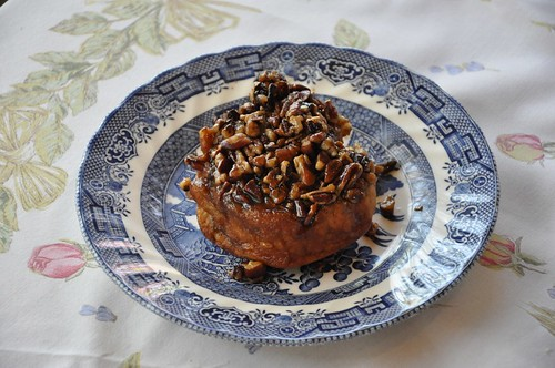 Sticky bun from Beiler's