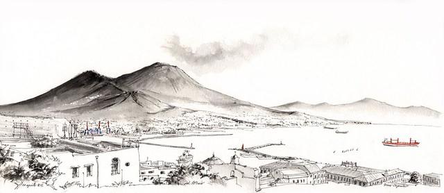 Vesuvio dal Petraio