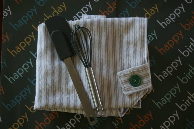 Toddler apron gift