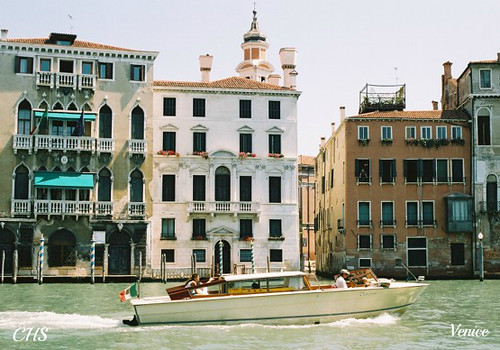 Grand Canal, Venice  35mm (2004) by Stocker Images