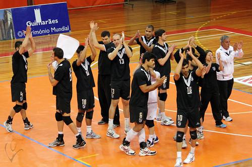 Voleibol: Vitória SC 3-2 Castêlo da Maia