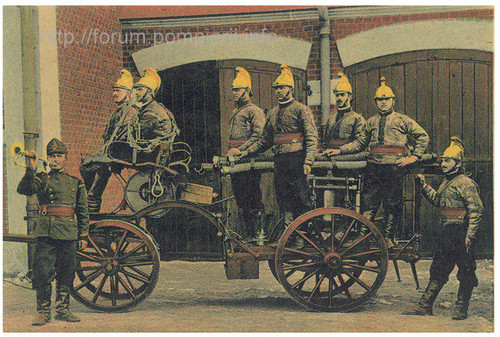 Pompieri - uniforma pompieri model 1895