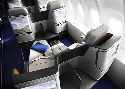 New Lufthansa Business Class Looking Forward
