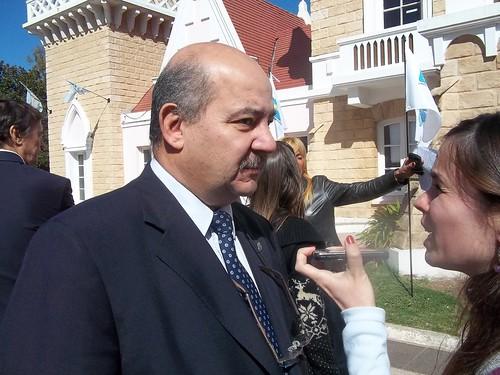 Fernando Tauber Pte UNLP en diálogo con FM Gonnet
