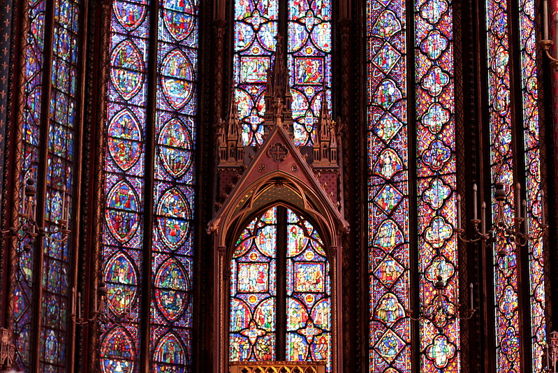 La Sainte Chapelle stained glass