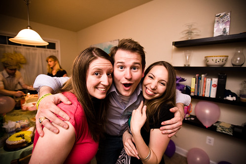 Tiffany, Kyle, Saskia