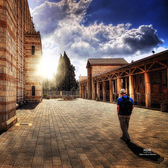 BEBUDELSESKIRKEN I NAZARETH - Basilica of the Annunciation, in Nazareth [explored]