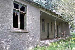 Old house, Milburn, Otago, New Zealand