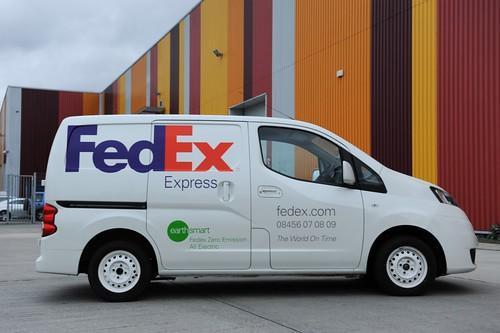 e-NV200 FedExさま向けテストカー