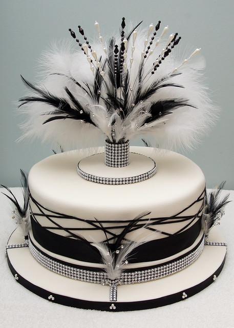 art deco wedding cake flickr photo sharing. Black Bedroom Furniture Sets. Home Design Ideas