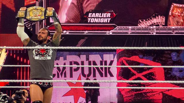 CM Punk at Raw, Miami, 2 April 2012
