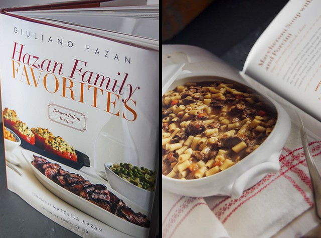 "Giuliano Hazan's new cookbook: ""Hazan Family Favorites"""