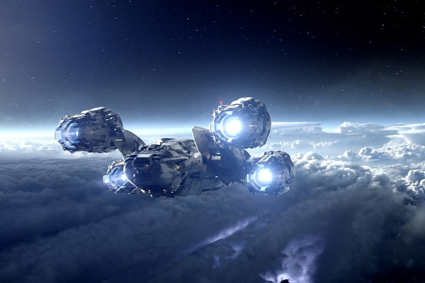 The Prometheus starship