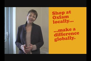 Caroline Lucas MP on charity shopping, donating to Oxfam, Rio+20 and a more sustainable future