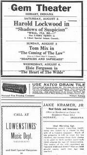 Gem, News, 7-31-1919