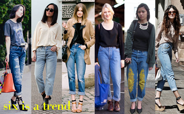 ways to wear 90s boyfriend jean street style