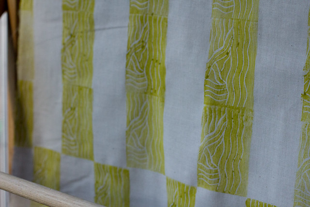 fat quarter chartruese (1 of 1)