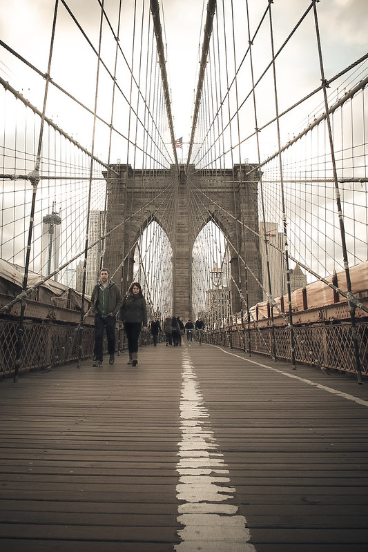 Brooklyn bridge|New York