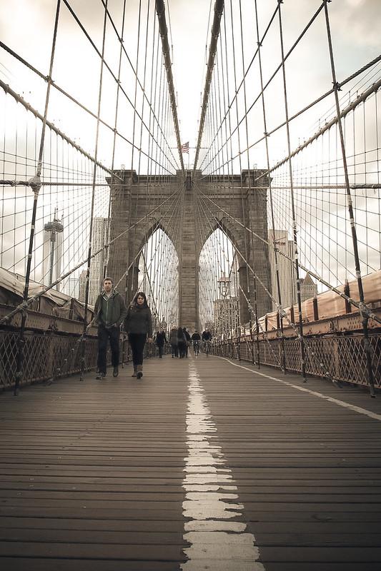 Brooklyn bridge|New York
