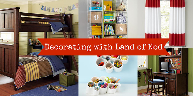 Decorating with Land of Nod