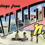 Lavallette New Jersey Greetings from Lavallette