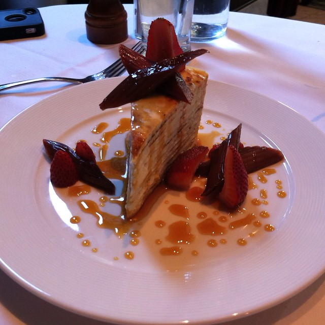24 Layer Crepe Cake @ Cafe des Amis