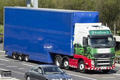 Volvo FH 6x2 Tractor - PX11 BYF - Edith Danni - Eddie Stobart - M1 J10 Luton - Steven Gray - IMG_8545