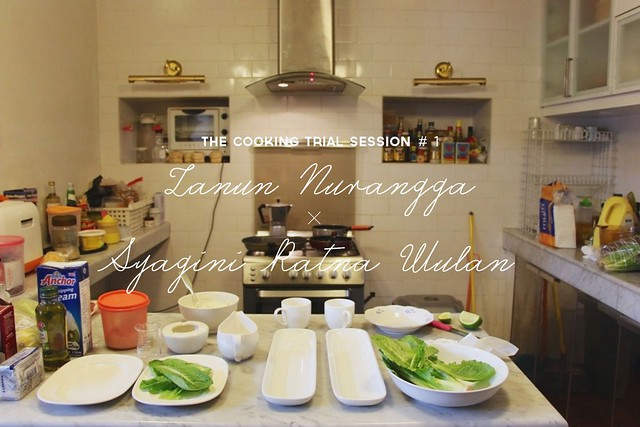 The Cooking Trial Session #1: Zanun Nurangga x Syagini Ratna Wulan