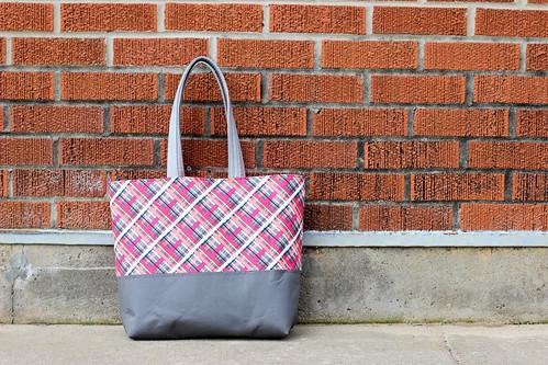 Nordika Tote Bag by Jeni Baker