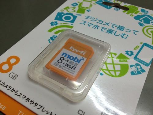 Eye-Fi mobi 8GBを入手 by haruhiko_iyota