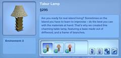 Tabur Lamp