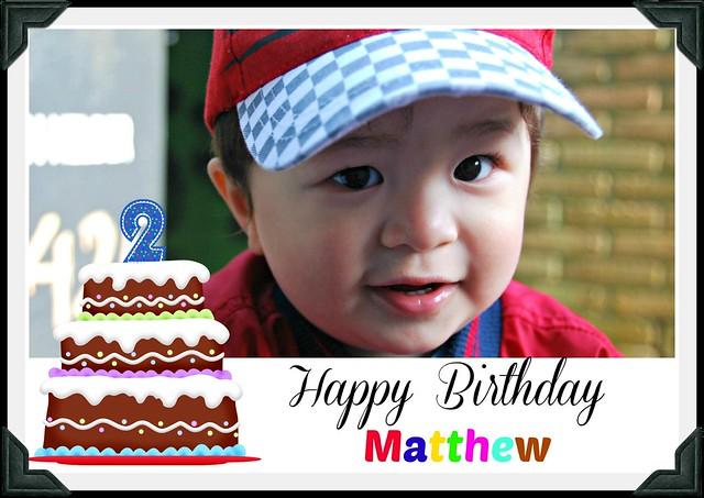 Matthew is 2
