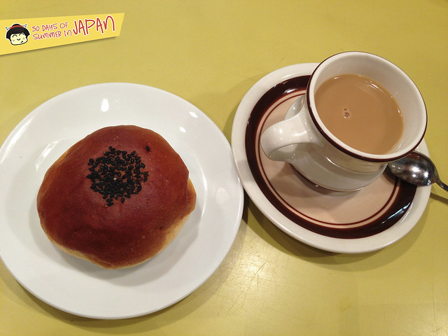 Kimuraya Pastry Shop in Tsukiji - Red Bean Paste Bun Anpan