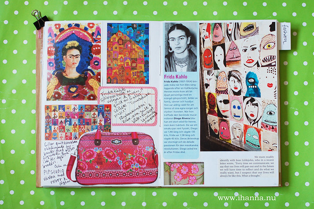 Glue Book: Frida Kahlo Love