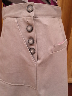 Side buttons on Rosie Skirt