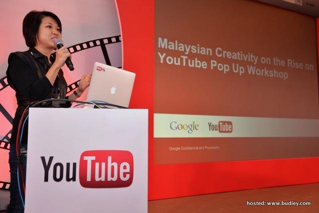 Wiwi Goh at YouTube Workshop