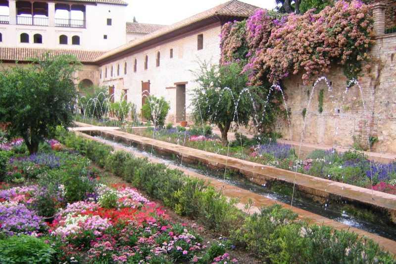 Los jardines de Espa�a y Javier de Winthuysen